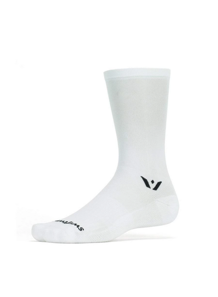 Swiftwick Swiftwick Aspire Seven Socks - 7 inch, White, X-Large