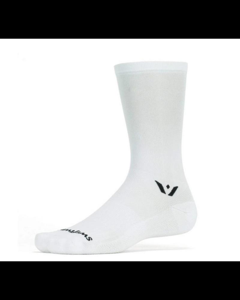 Swiftwick Swiftwick Aspire Seven Socks - 7 inch, White, X-Large