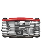 Crank Brothers Multi Tool 19 Black & Red