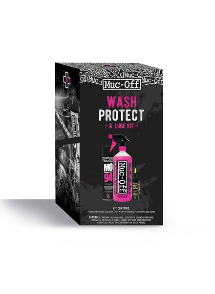 Muc-Off Muc-Off, Wash, Protect & Lube, Maintenance Kit - Dry Lube