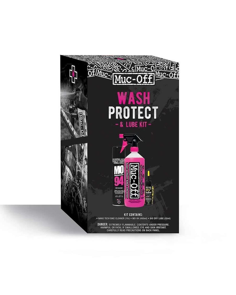 Muc-Off Muc-Off, Wash, Protect & Lube, Maintenance Kit - Dry Lube