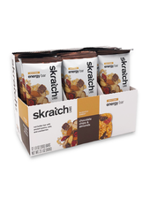 Skratch Labs Anytime Energy Bar, Almond Chocolate Chip, 50g, Bar 12-Pack