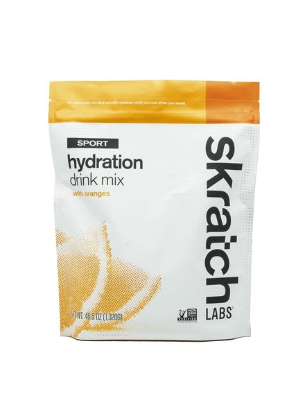 Skratch Labs Sport Hydration Drink Mix, Oranges, 60-Serving Resealable Pouch
