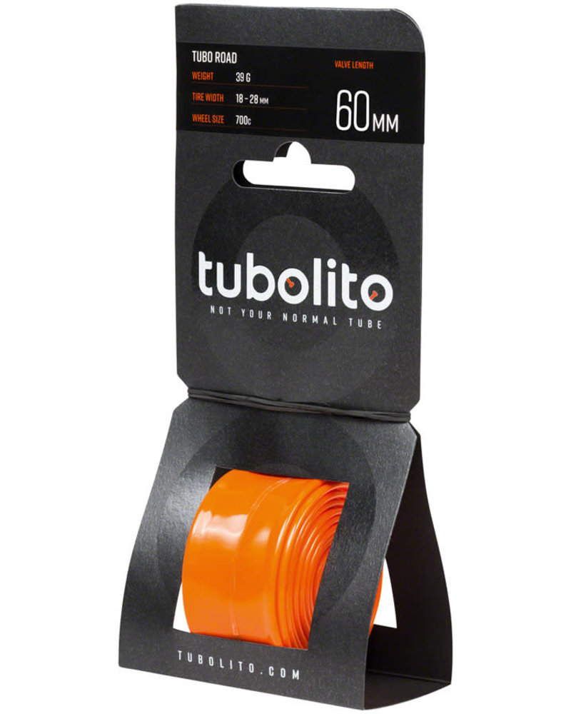 tubolito Tubolito Tubo Road 700 x 18-28mm Tube - 60mm Presta Valve