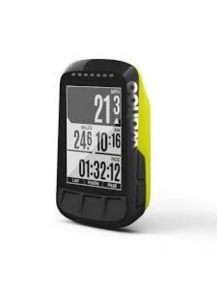 Wahoo ELEMNT Bolt GPS Bike Computer Yellow