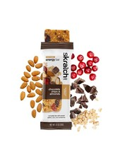 Skratch Labs Anytime Energy Bar, Almond Chocolate Chip, 50g, Bar 12-Pack single
