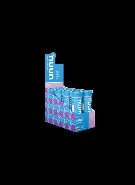 nuun Nuun Active Hydration Tablets: Grape; Box of 8 Tubes