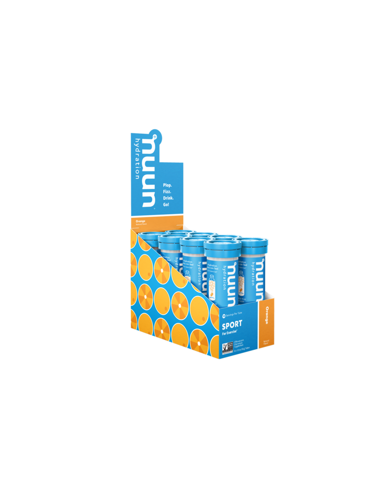 nuun Nuun Active Hydration Tablets: Orange, Box of 8 Tubes