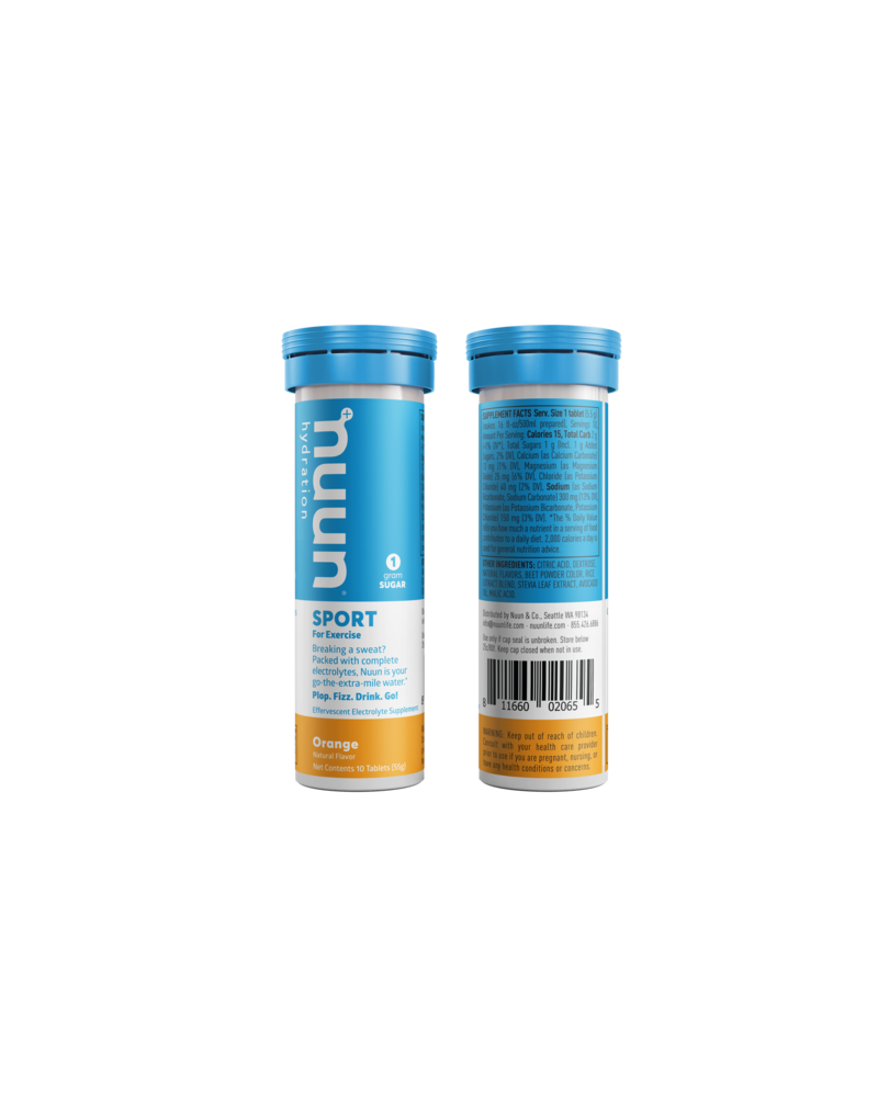 nuun Nuun Active Hydration Tablets: Orange, Single