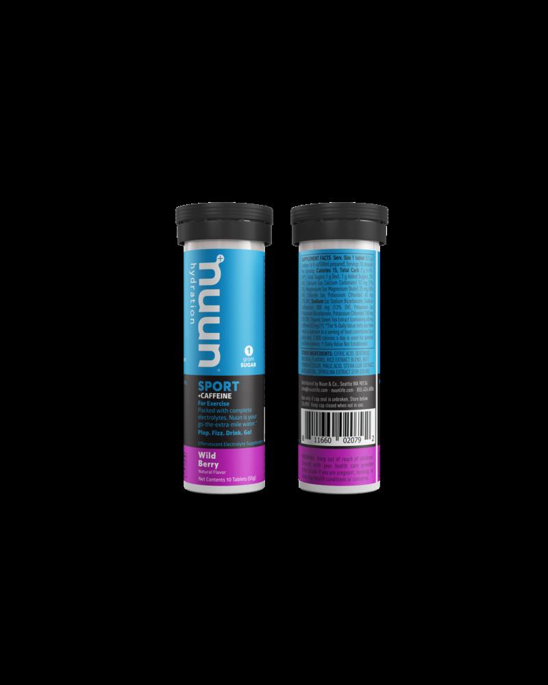 nuun Nuun Energy Hydration Tablets: Wild Berry, Single