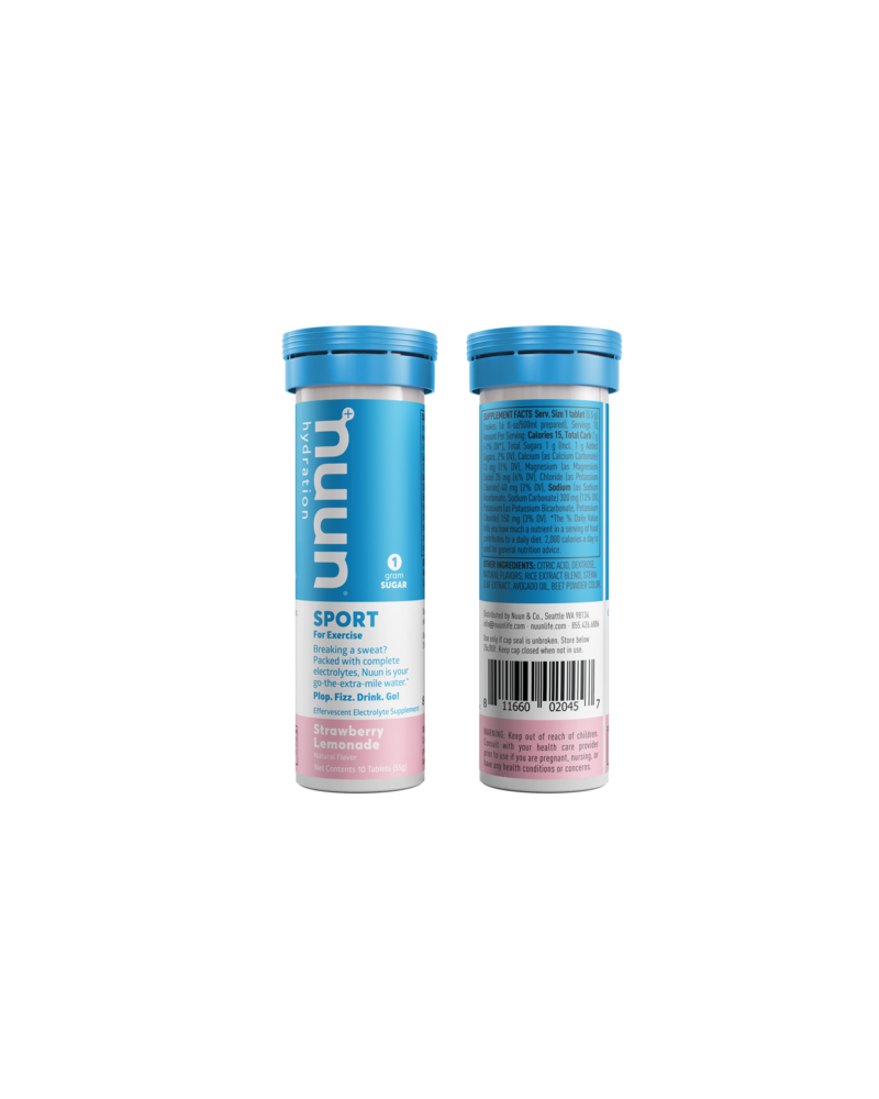nuun Nuun Active Hydration Tablets: Strawberry Lemonade, Single
