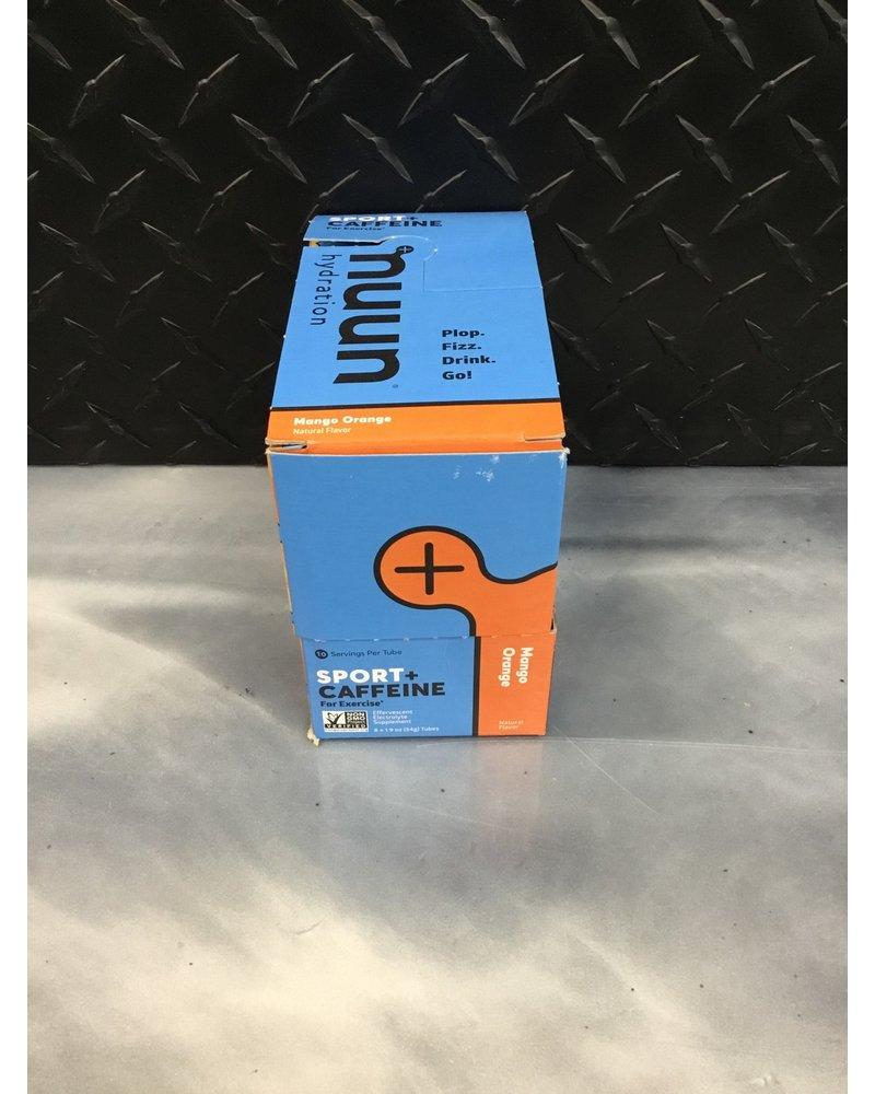 nuun Nuun Energy Hydration Tablets: Mango Orange, Box of 8 Tubes