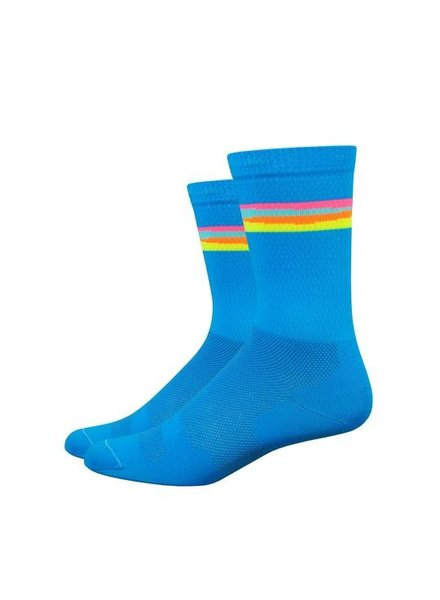 Defeet SATURN PROCESS BLUE/ FOUR ALTERNATE COLORS L