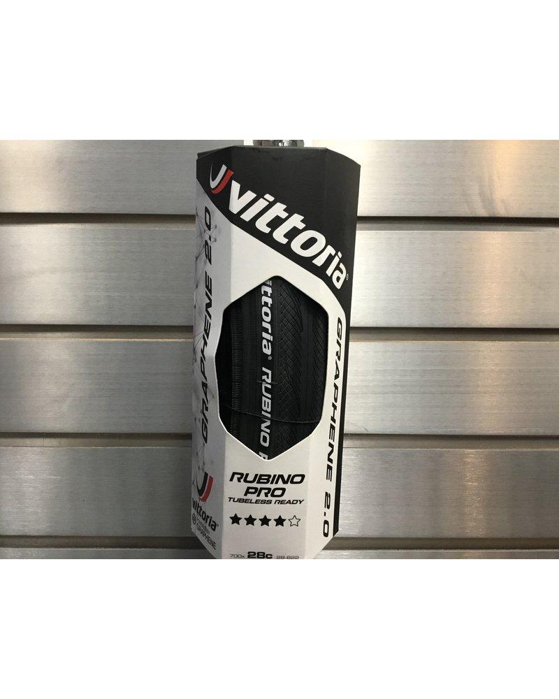 Vittoria Rubino Pro G2.0 - TLR Fold G2.0 - full black 700x28c