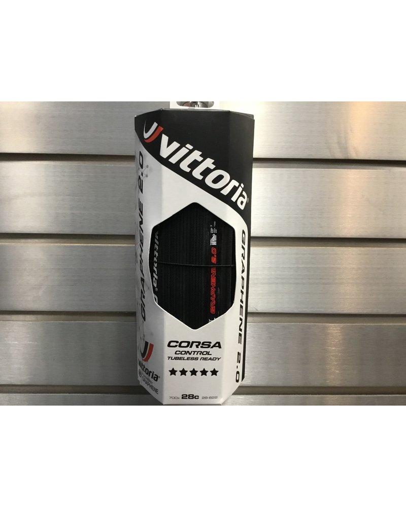 Vittoria Corsa Control G2.0 - TLR Fold G2.0 - full black 700x28c
