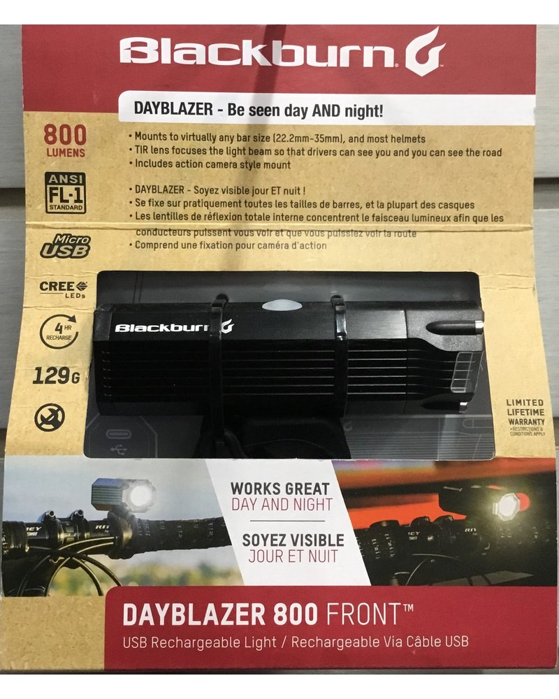Blackburn Blackburn Dayblazer 800 Front Light - Black
