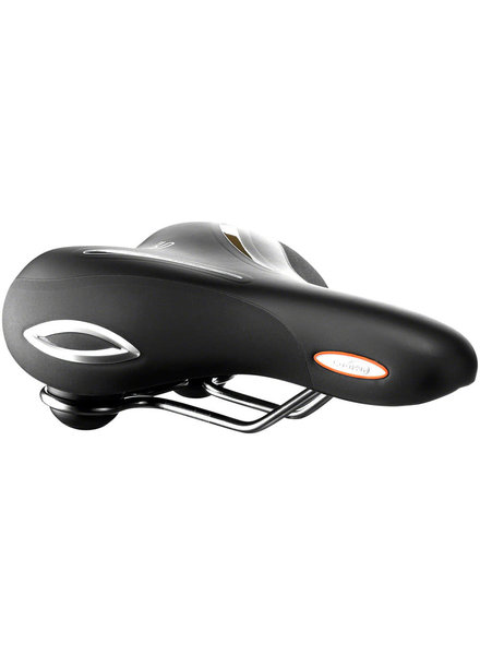 Selle Royal Selle Royal Lookin Saddle - Steel, Black, Basic Relaxed