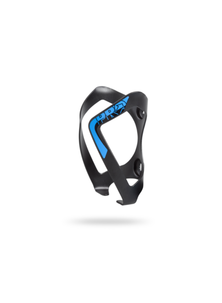 Shimano BOTTLE CAGE ALLOY BLACK W/BLUE