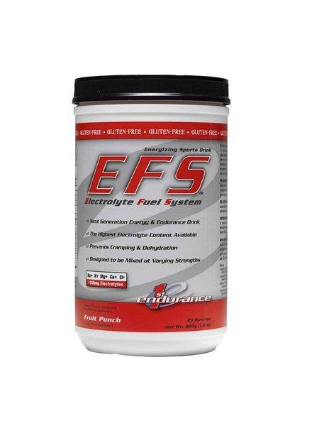First Endurance EFS, 800g, Drink Mix, Fruit Punch, 25 servings