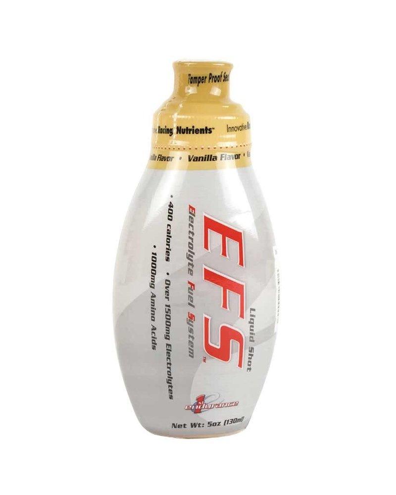 First Endurance EFS Liquid Shot: Vanilla; Box of 6
