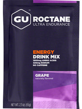 GU Energy Labs GU Roctane Energy Drink Mix Caffiene-free Grape Single