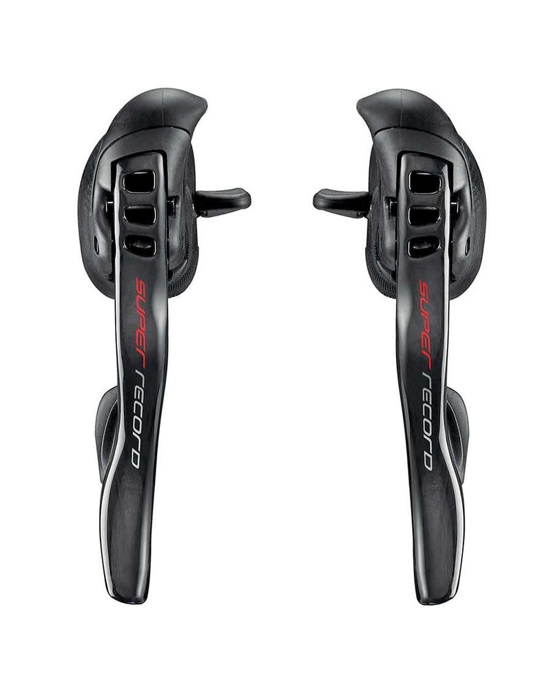 Campagnolo Super Record, Shifter-Brake Lever, Speed: 2x12, Carbon, Pair