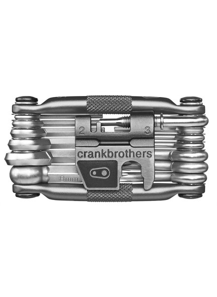 Crank Brothers Tool Multi 19 Black/Silver