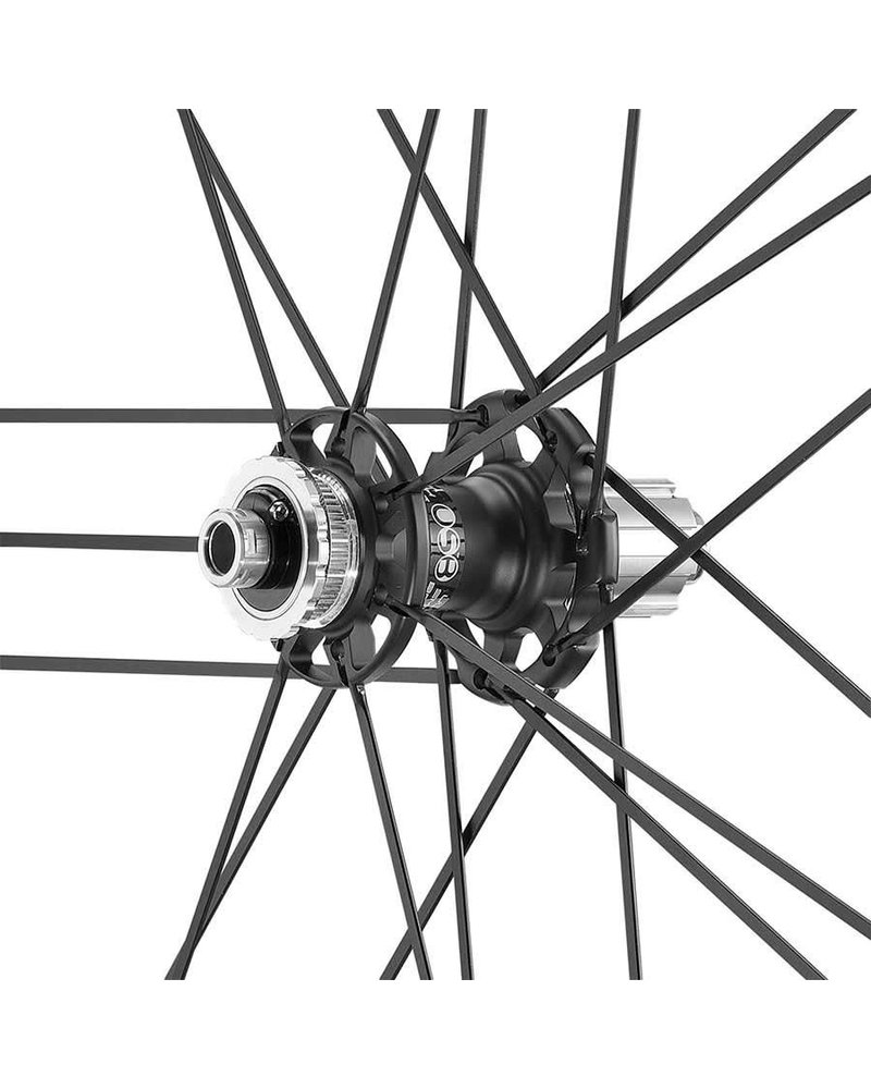 Campagnolo Campagnolo, Shamal Ultra Disc Brake, Wheel, Front and Rear, 700C, Holes: 21, 12mm TA, F: 100, R: 142, Campagnolo, Set