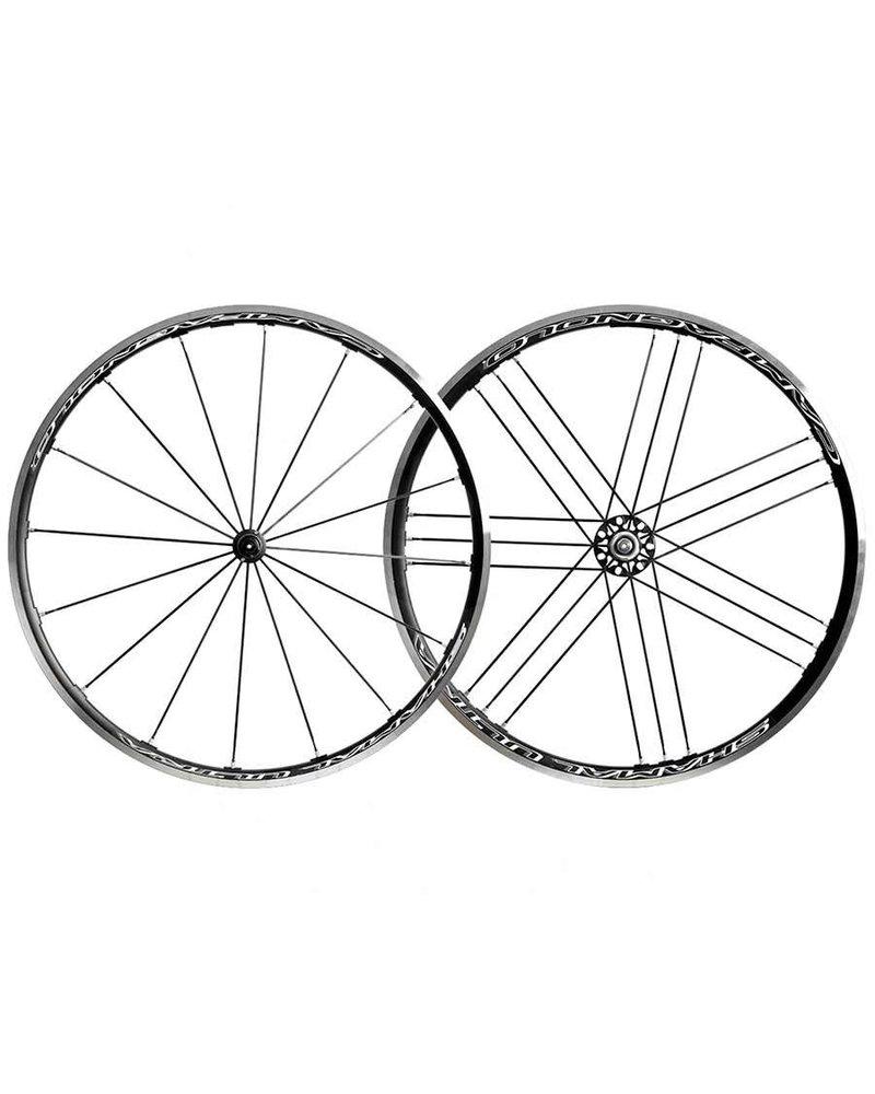 Campagnolo Campagnolo, Shamal Ultra C17, Wheel, 700C, Clincher, QR, OLD: F: 100, R: 130, Brake: Rim, Pair, Campagnolo