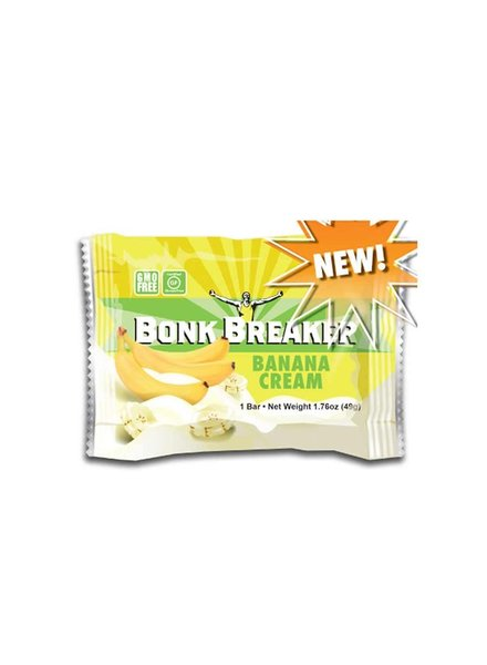 Bonk Breaker Bonk Breaker, Energy, Bars, Banana cream, 12pcs