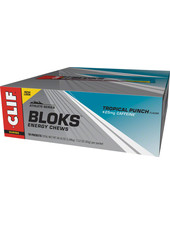 Clif Bar Shot Bloks, Tropical punch, 18pcs