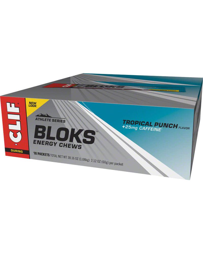 Clif Bar ShotBloks, Tropical punch, 18pcs