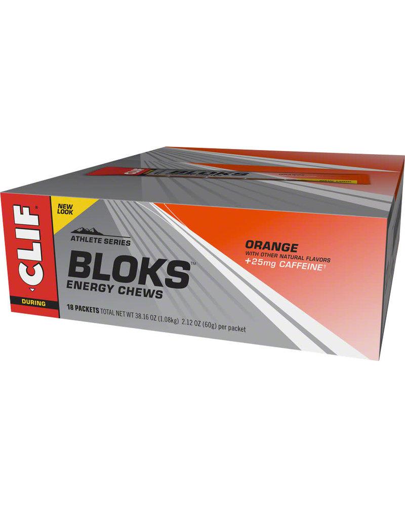 Clif Bar Shot Bloks, Orange, 18pcs