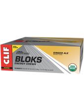 Clif Bar Shot Bloks: Ginger Ale, Box of 18