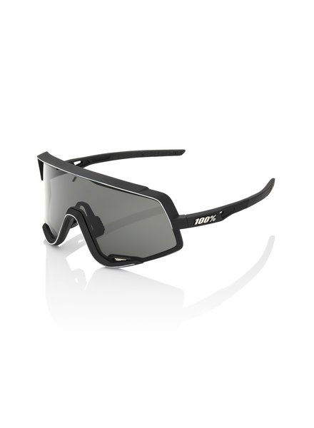 100 Percent Glendale - Soft Tact Black - Smoke Lens