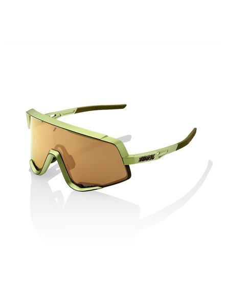 100 Percent Glendale - Matte Metallic Viperidae - Bronze Multilayer Mirror Lens