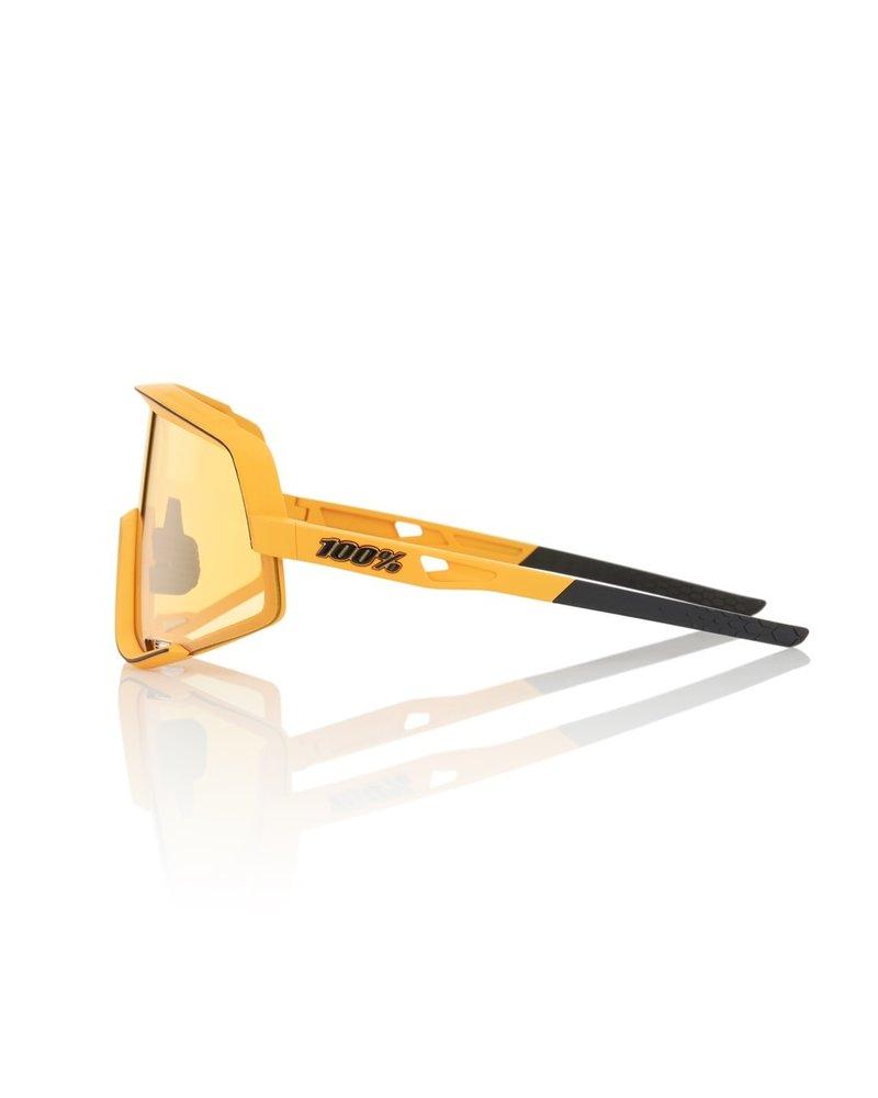 100 Percent Glendale - Soft Tact Mustard - Yellow Lens & Smoke Lens