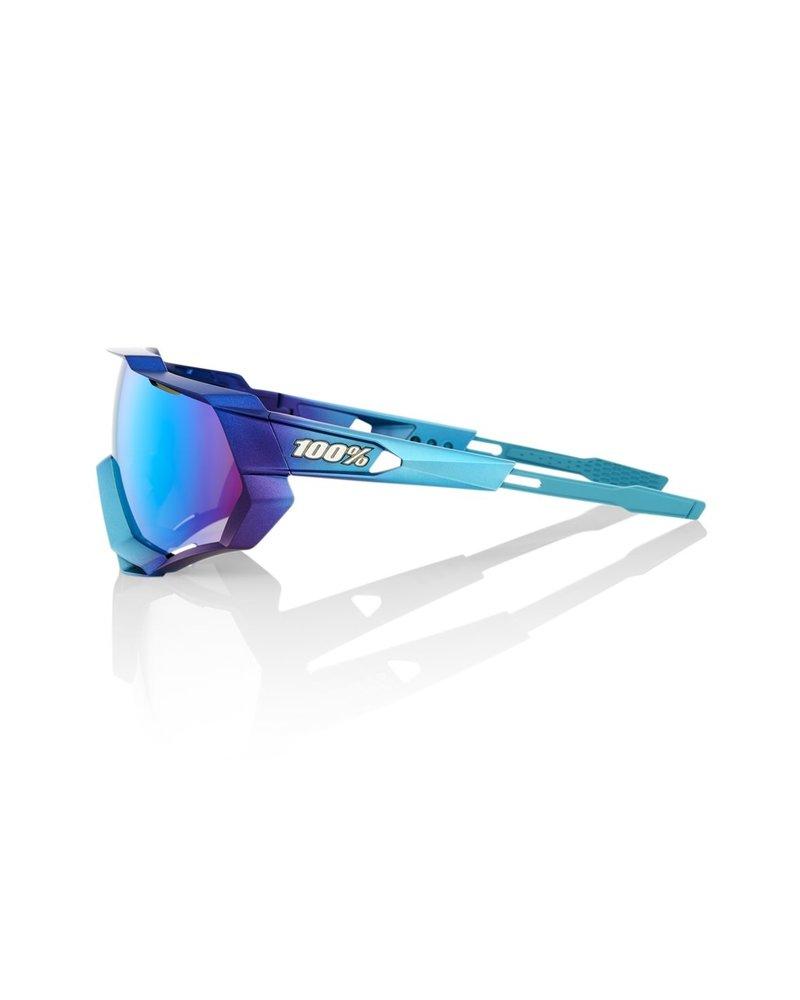 100 Percent SPEEDTRAP - Matte Metallic Into the Fade - Blue Topaz Multilayer