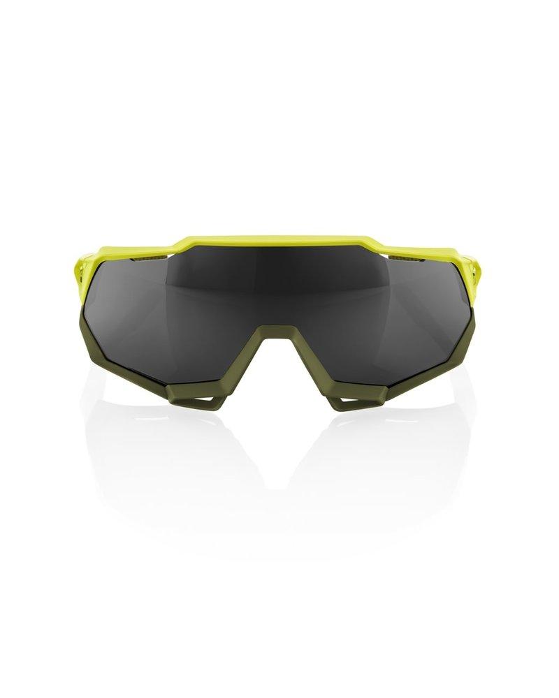 100 Percent Speedtrap - Soft Tact Banana - Black Mirror Lens