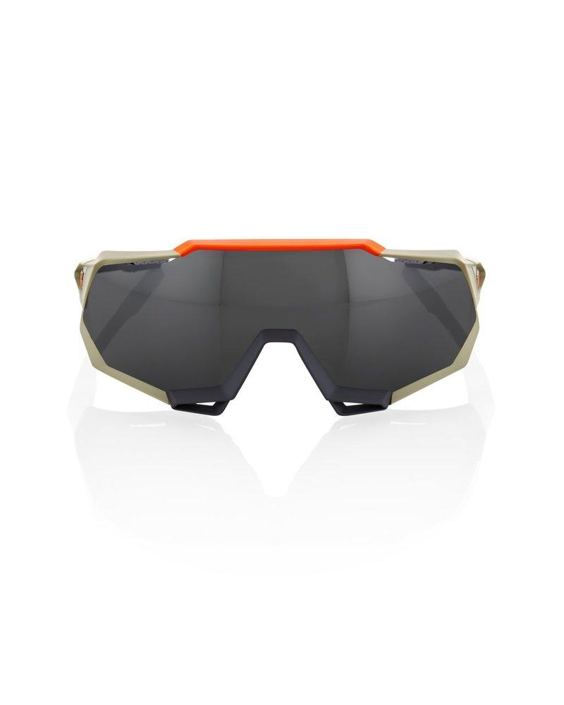 100 Percent Speedtrap - Soft Tact Quicksand - Smoke Lens