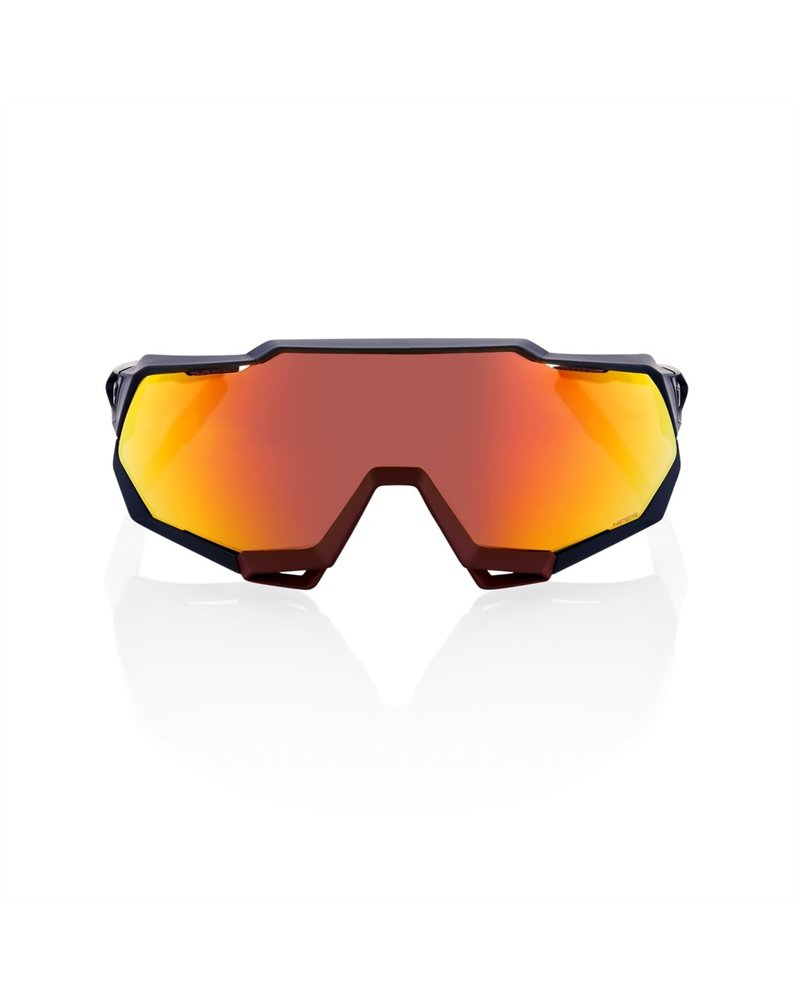 100 Percent Speedtrap - Soft Tact Flume - HiPER Red Multilayer Mirror Lens