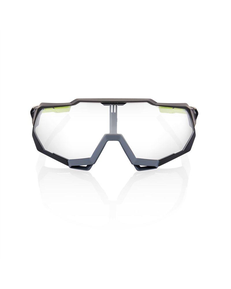 100 Percent Speedtrap - Soft Tact Cool Grey - Photochromic Lens