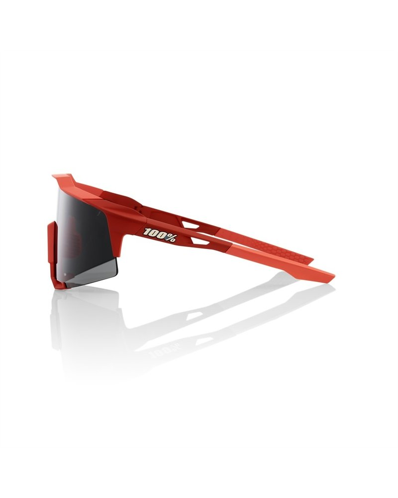 100 Percent Speedcraft - Soft Tact Coral - Black Mirror Lens