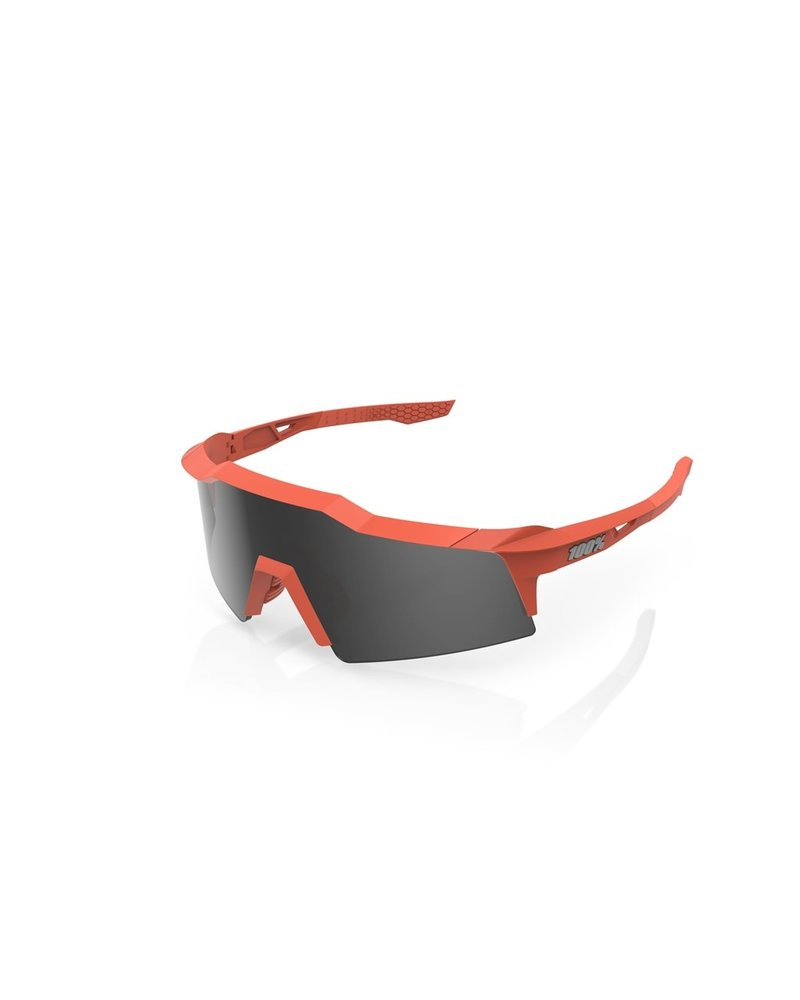 100 Percent Speedcraft SL - Soft Tact Coral - Smoke Lens