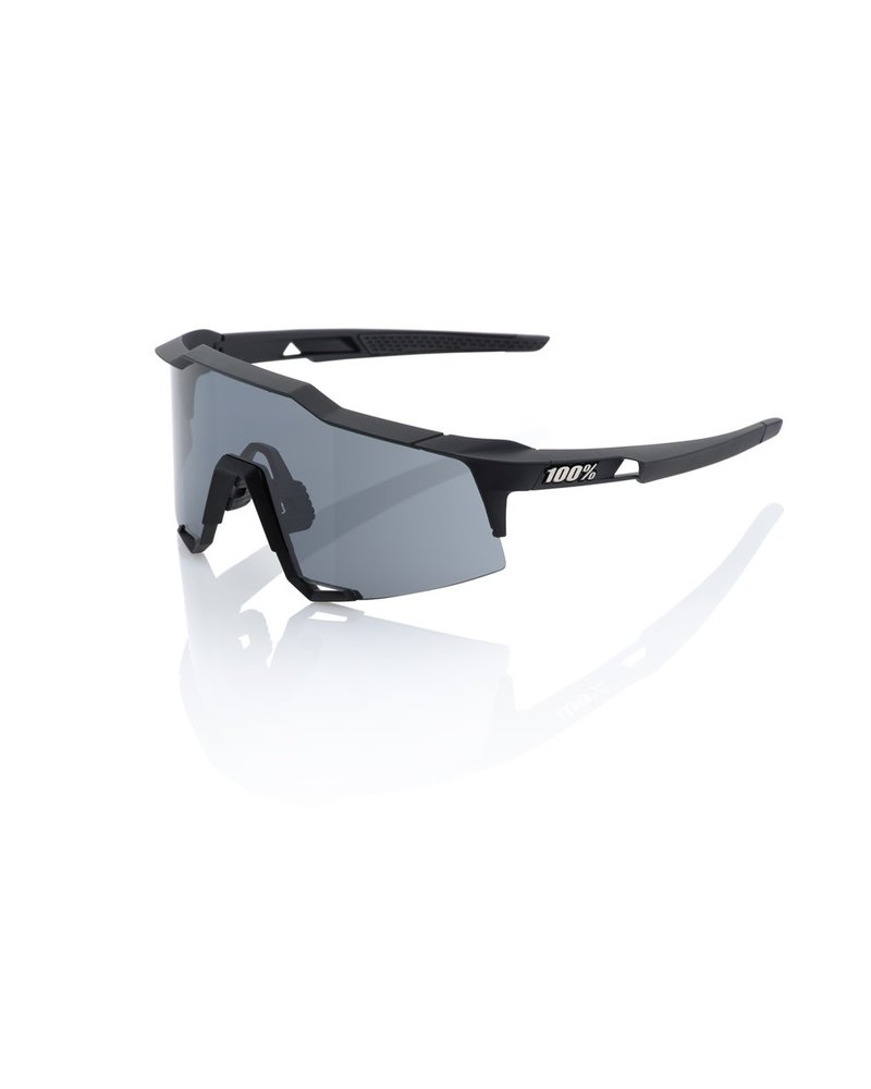 100 Percent Speedcraft - Soft Tact Black - Smoke Lens