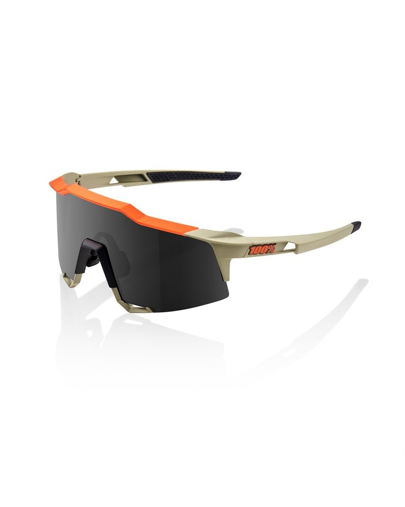 100 Percent Speedcraft - Soft Tact Quicksand - Smoke Lens