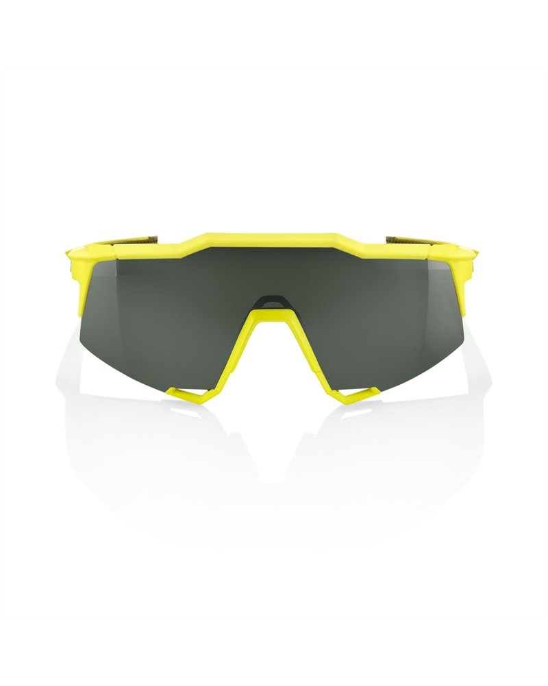 100 Percent Speedcraft - Soft Tact Banana - Grey Green Lens