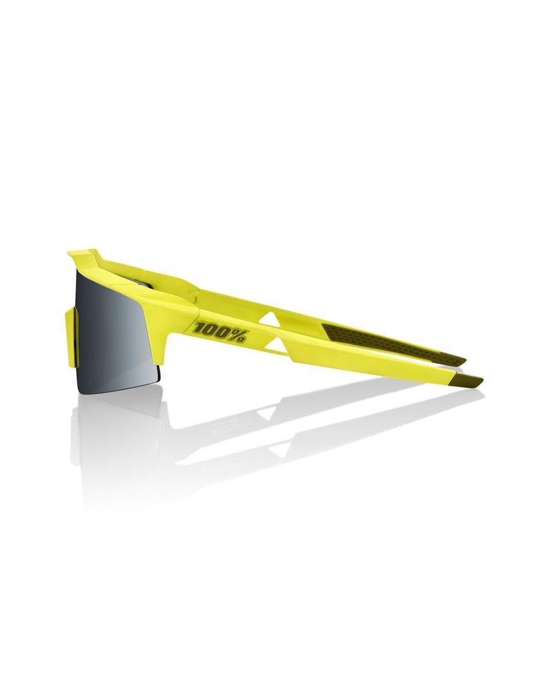 100 Percent Speedcraft SL - Soft Tact Banana - Black Mirror Lens