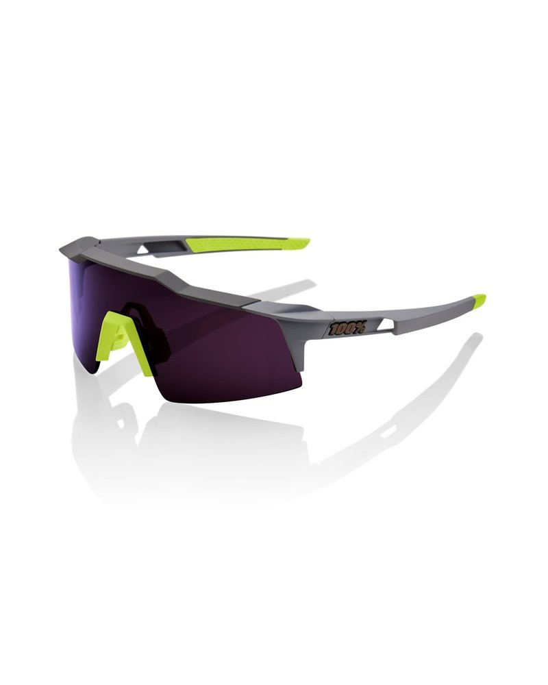 100 Percent Speedcraft SL - Soft Tact Midnight Mauve - Purple Lens