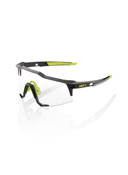 100 Percent Speedcraft - Gloss Black - Photochromic Lens